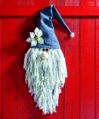 Gnomo decorazione a parete per porta