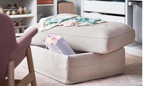Poggiapiedi GRÖNLID - Design e foto by Ikea