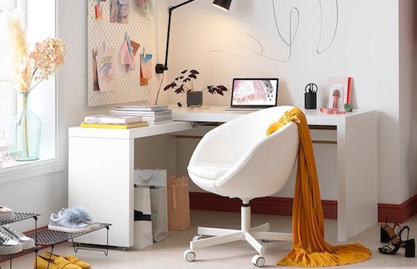 Scrivania MALM - Design e foto by Ikea