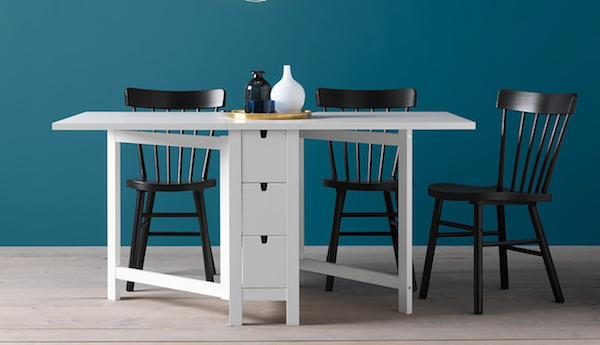 Tavolo NORDEN - Design e foto by Ikea