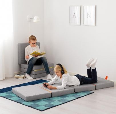 Pouf-materasso SLÄKT - Design e foto by Ikea