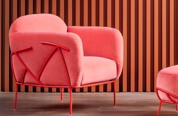 Poltrona Corallo - Design Paolo Grasselli, foto by Bonaldo