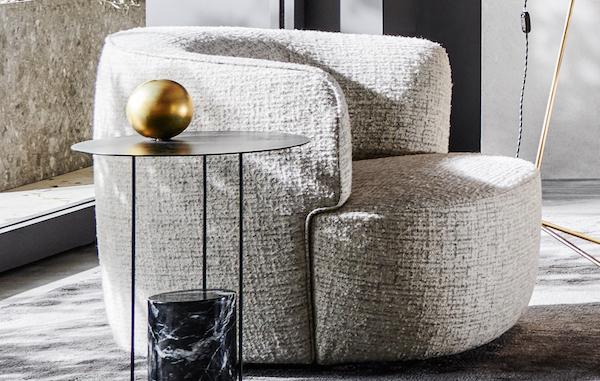 Poltrona Elaine - Design by Vincent Van Duysen, foto, Molteni & C