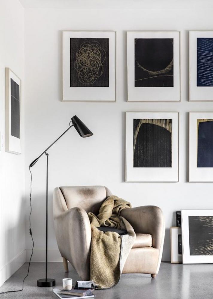 Lampada da terra per soppalco Birdy - Design e foto by Northern