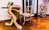Mobili surrealisti dell'artigiano Giuseppe Bruno di MobiliStorti