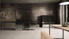 Rivestimenti e pavimenti di ceramica con effetto metallizzato