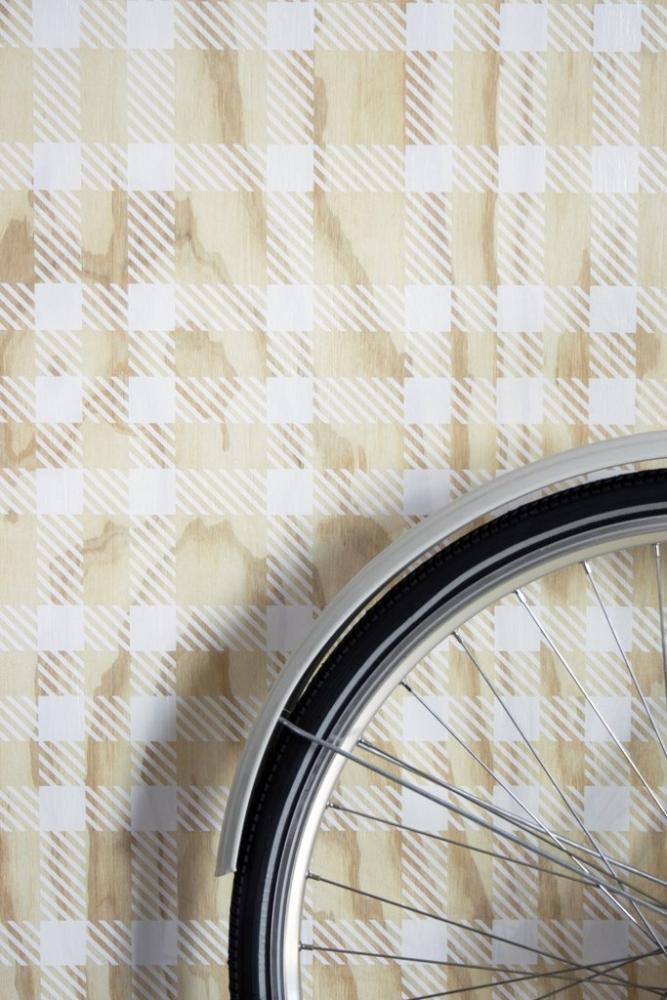 Piastrelle in gres a effetto tessuto tartan I Pinocchi by 14oraitaliana