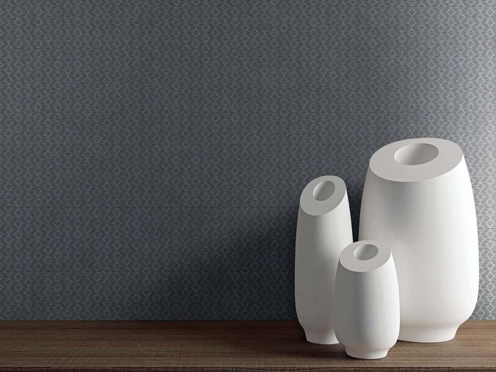 Piastrelle in gres di grande formato a effetto tessuto tono su tono Linea by 14oraitaliana