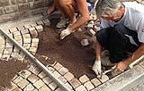 Posa di una pavimentazione in sampietrini by Porfidi Roberto