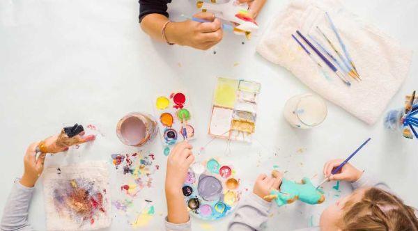 Creare insieme ai bambini con la cartapesta