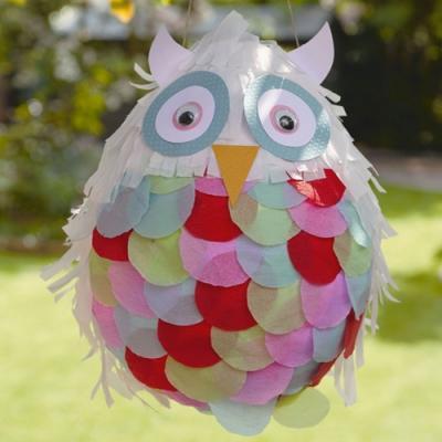 Pentolaccia fai da te in cartapesta di My Owl Barn