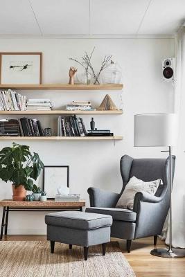 Il comfort di un angolo lettura
