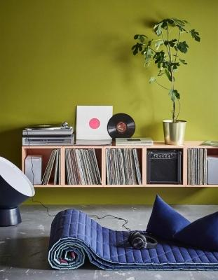Un angolo musica per il relax in casa