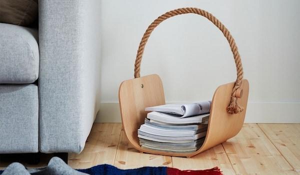 Cestino in legno VÄRMER - Design e foto by Ikea