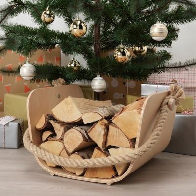 Cestino in legno collezione VÄRMER - Design e foto by Ikea