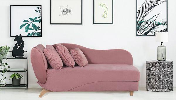 Chaise longue reclinabile Meri - Design e foto by Beliani