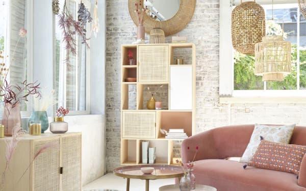 Libreria Solstice - Design e foto by Maisons du Monde