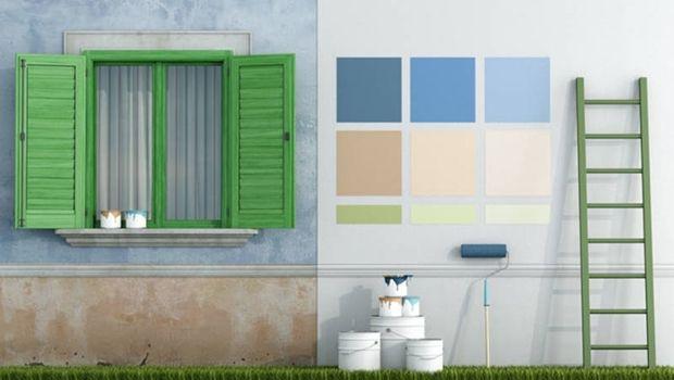 Pittura ad acqua anche per esterni