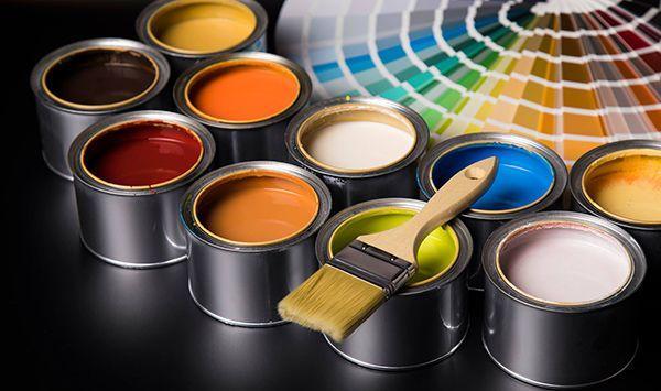 Pittura Ad Acqua Usi Per L Esterno E Per L Interno