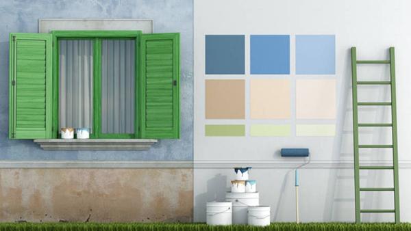 Pitture ad acqua per interni ed esterni - Casa Paint