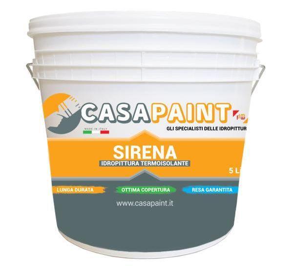 Idropittura antimuffa Sirena - Casa Paint