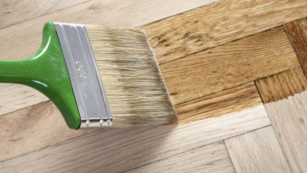 Vernice all'acqua per parquet - Casa Paint
