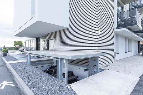 Piattaforma elevatrice auto - Ideal Park