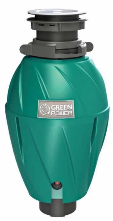 Tritarifiuti da lavello GreenPower 750 Top, prodotto da Elleci