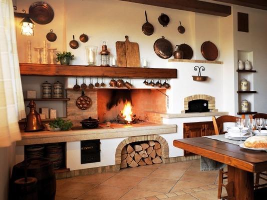Caminetto da cottura a legna - Gover