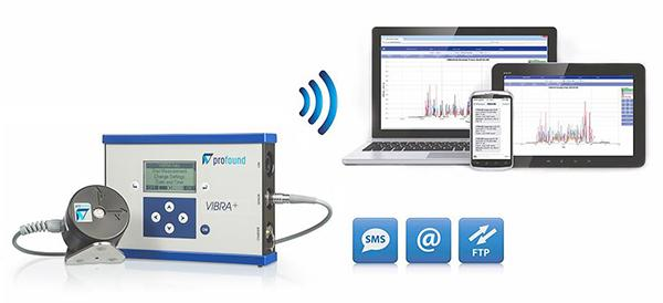 Gli strumenti digitali come la centralina VIBRA di Boviar inviano i dati in tempo reale