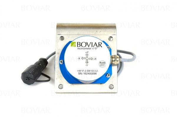 Inclinometro fisso da parete m-BIAX di Boviar