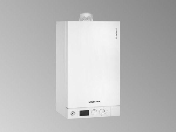 Caldaia a condensazione Vitodens 100-W di Viessmann