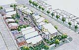 Uno schizzo di una comunità di cohousing a Boulder, CO (Fonte: cohousing.org)