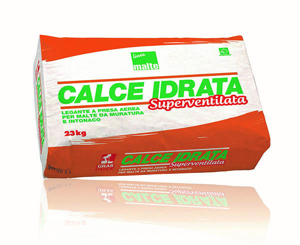 Calce idrata per allettamento - Gras Calce Spa