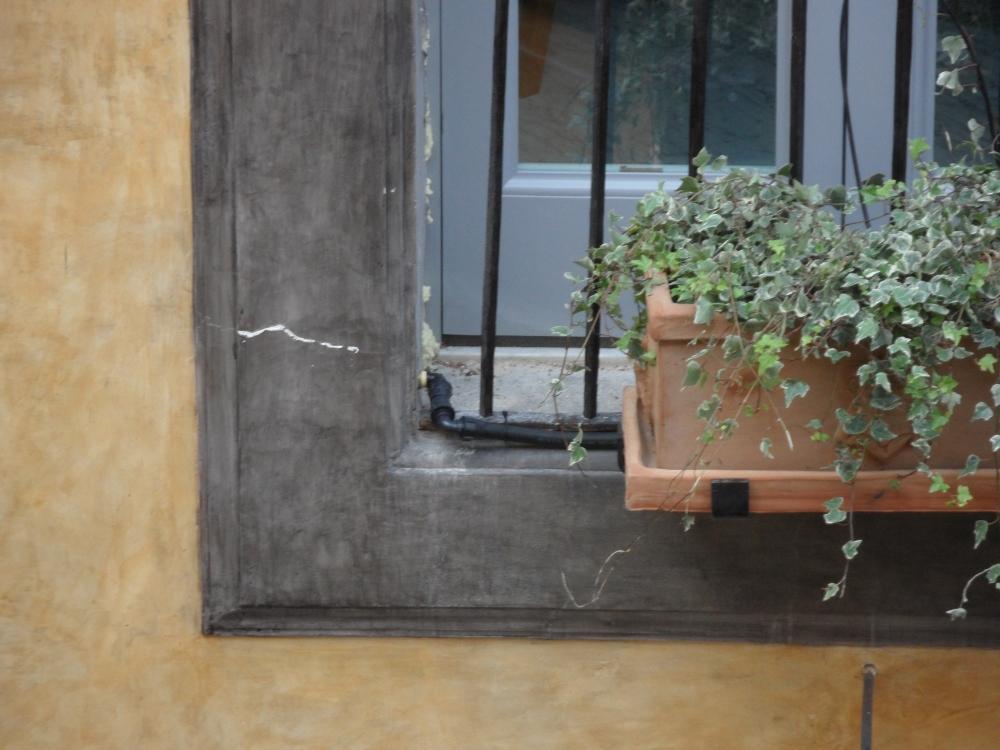 Crepe intonaco in facciata