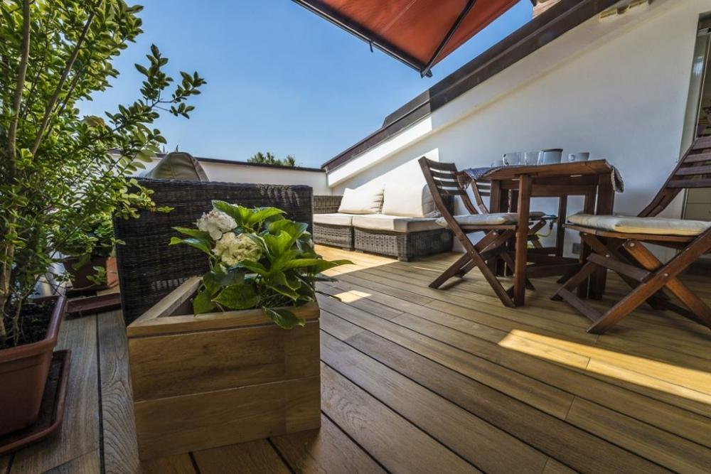 Terrazzo sul tetto - BBP Ingegneria