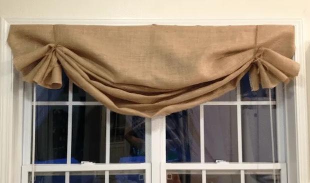 Idee fai da te con la juta: tenda, da 11magnolialane.com