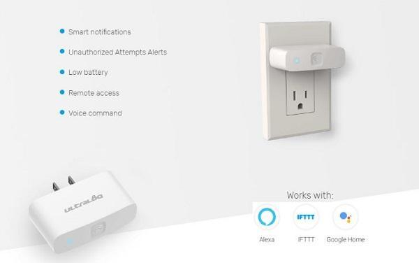 Connettore wifi per serratura smart Lever di Ultraloq