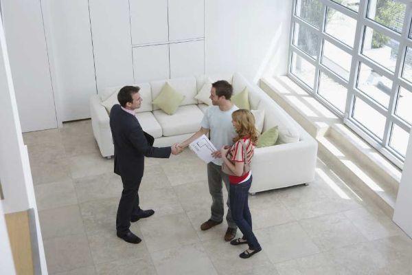 Sopralluogo e simulazione della vendita di un immobile