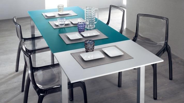 Progetto cucina - tavolo allungabile Axel Scavolini