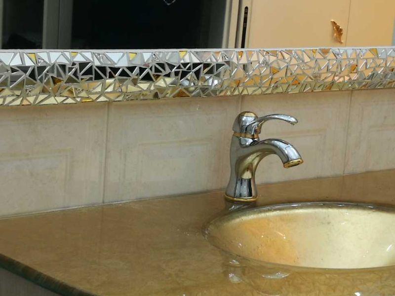 Specchiera bagno a mosaico Luisa degli specchi