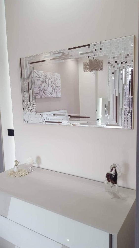 Specchio mosaico Vero Amore di Luisa degli specchi