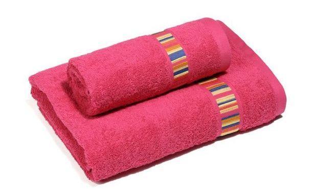 Asciugamani per il bagno in spugna, da Caleffi