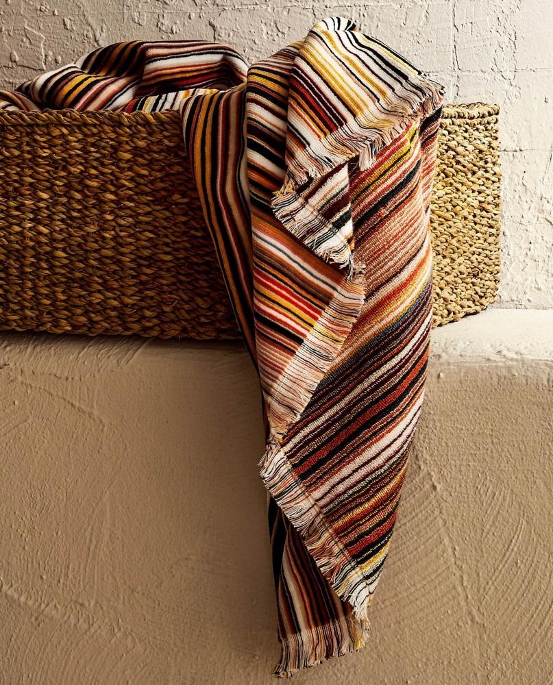 Asciugamani per il bagno a righe colorate, da Zara Home