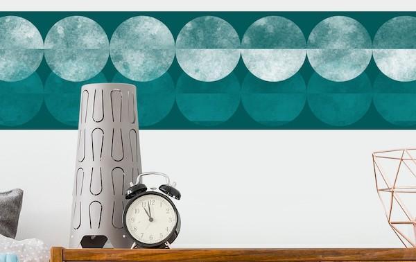 Adesivo murale color turchese - Design e foto by Bilder Welten