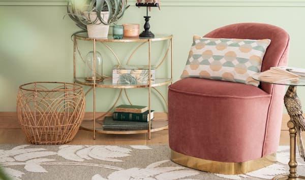 Sedia in velluto AGLAÉ - Design e foto by Maisons du Monde