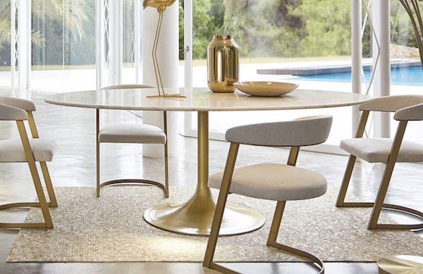 Tavolo in marmo MANISA - Design e foto by Maisons du Monde