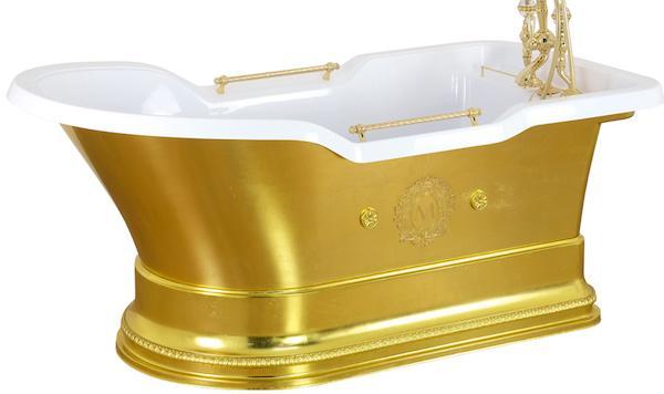 Vasca da bagno luxury Impero Podium - Design e foto by MIGLIORE