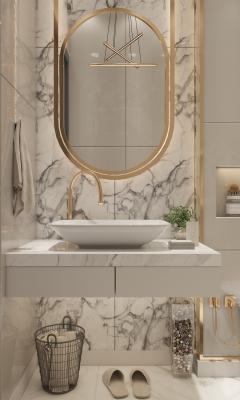 Tendenze arredamento 2020: bagno luxury