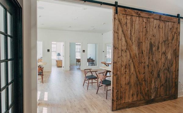 Porte da interni di design in stile moderno